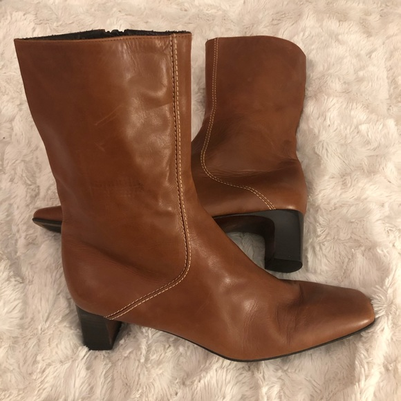Cole Hann leather boot